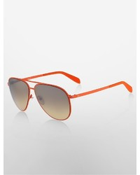 Calvin Klein Aviator Colorthin Sunglasses