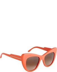 Stella McCartney Cat Eye Sunglasses Orange