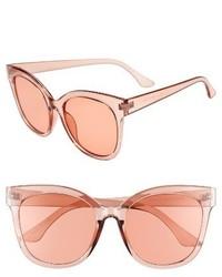 Clear Sunglasses Peach