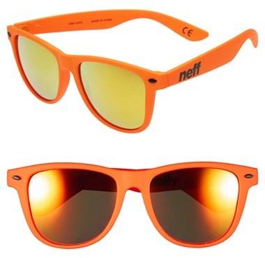 84f7f29c20f ... Orange Sunglasses Neff Daily 54mm Sunglasses ...