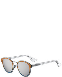 Christian Dior Dior Diornightfall Square Mirrored Sunglasses