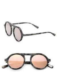 Stella McCartney Falabella Chain 48mm Round Sunglasses