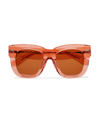 Acne Studios Library Square Frame Acetate Sunglasses