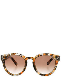 221ddcf527673 Kenzo Abstract Print Cat Eye Plastic Sunglasses Black Out of stock · Kenzo  Marbled Cat 2 Sunglasses