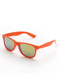 Neon Retro Square Sunglasses