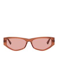 McQ Alexander McQueen Orange Mq0250s Sunglasses