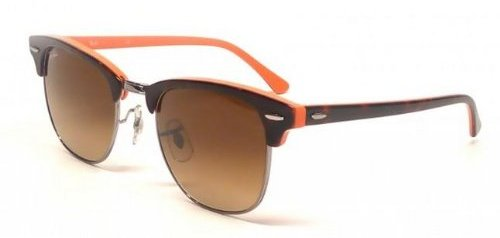 8028d9ed5c Rb3016 Classic Clubmaster Sunglasses. Orange Sunglasses by Ray-Ban