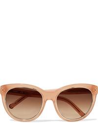 Chloé Round Frame Acetate Sunglasses