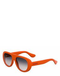 Havaianas Rubber Gradient Wrap Sunglasses
