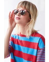 Urban Outfitters Skylar Half Frame Sunglasses