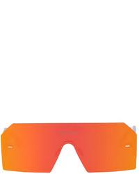 Marcelo Burlon County of Milan Transparent Red Retrosuperfuture Edition Visiones Sunglasses
