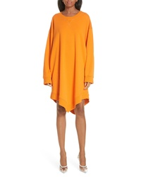 MM6 MAISON MARGIELA Point Hem Sweatshirt Dress