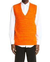 The Elder Statesman Hand Spun Cashmere Sweater Vest