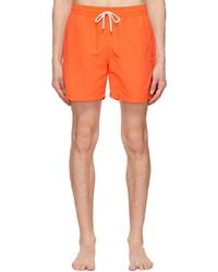 Polo Ralph Lauren Orange Solid Traveller Swim Shorts