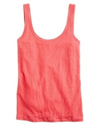 Scoop neck linen tank top medium 4354631