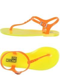 Love Moschino Thong Sandals