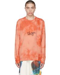 Loewe Orange Paulas Ibiza Tie Dye Sweatshirt