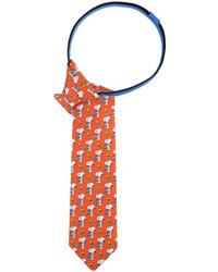 Licensed Properties Peanuts Snoopy With Basket Pre Tied Zipper Tie Boys