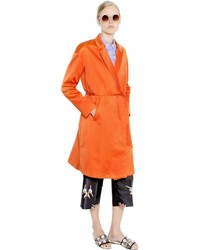 Rochas duchesse trench style coat medium 516518