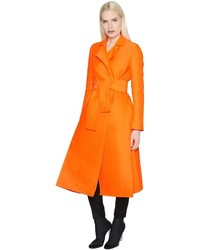 Maison Rabih Kayrouz Techno Silk Satin Trench Coat