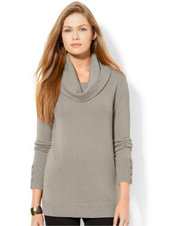 Lauren Ralph Lauren Cowl Neck Button Cuff Sweater | Where to buy ...