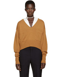 Chloé Orange Cashmere Sweater