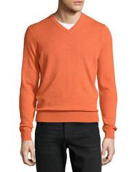 Cloud cashmere v neck sweater medium 5359683