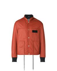 Orange Varsity Jacket