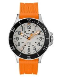 Timex Allied Silicone Strap Watch