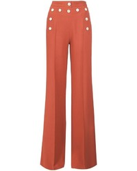 Derek Lam High Waisted Wide Legged Trousers