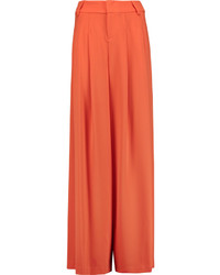 Scarlet crepe wide leg pants medium 1316942