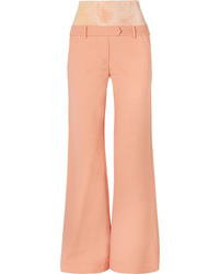 Ellery Stretch Ed Crepe Flared Pants