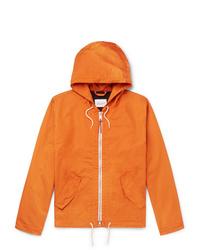 Albam Cotton Blend Hooded Jacket