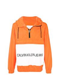 CK Jeans Half Zip Windbreaker
