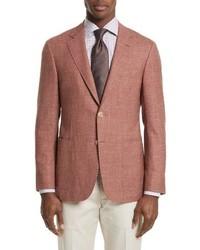 Canali Kei Classic Fit Wool Blend Blazer