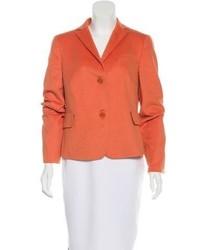 Wool angora blend blazer medium 5219277
