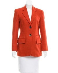Wool two button blazer medium 5219276