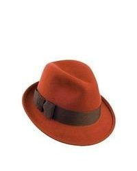Christys hats christys hats daphne trilby hat burnt orange medium 106059