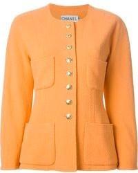 Chanel Vintage Round Neck Jacket