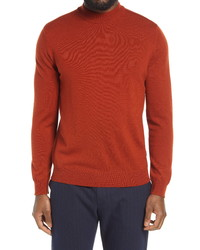 Nn07 Martin 6328 Mock Neck Wool Sweater