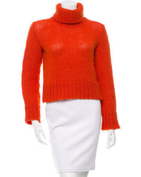 Wool turtleneck sweater medium 3640279
