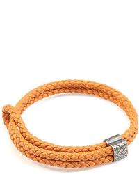 Bottega Veneta Woven Leather Bracelet