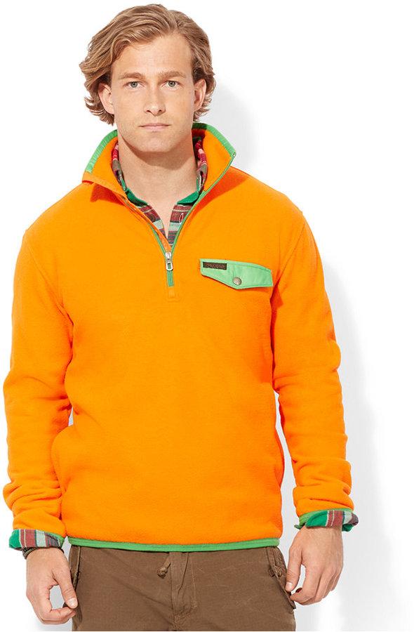... Polo Ralph Lauren Half Zip Fleece Pullover ...