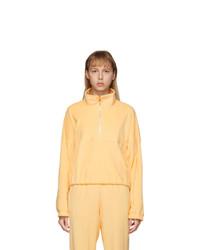 Gil Rodriguez Yellow Terry Diana Half Zip Sweatshirt