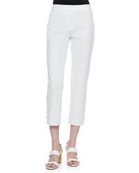 Pantalón capri blanco de Kate Spade