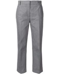 Pantalón capri gris de Thom Browne
