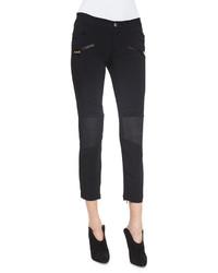 Pantalón capri negro de Just Cavalli