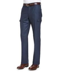 Pantalón cargo azul marino de Incotex