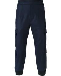 Pantalón cargo azul marino de Neil Barrett