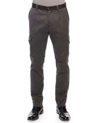 Pantalón cargo en gris oscuro de Dolce & Gabbana